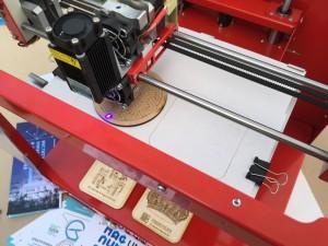 Приставка лазерный гравер для принтера Magnum 3D