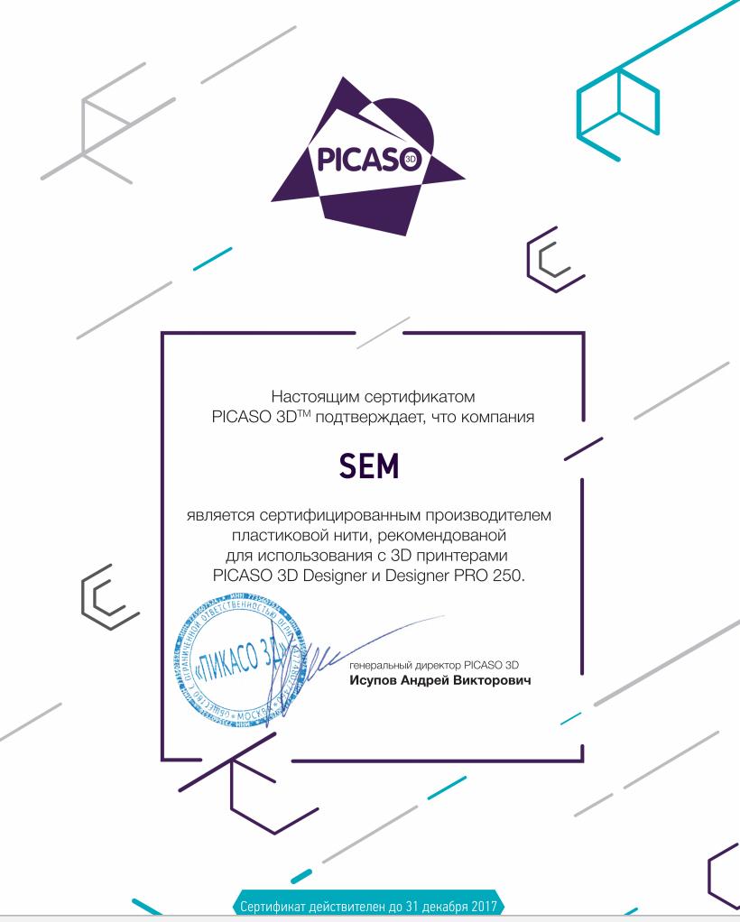 SEM-сертификат